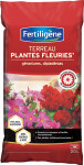 TERREAU PLANTES FLEURIES,GERANIUMS 20L